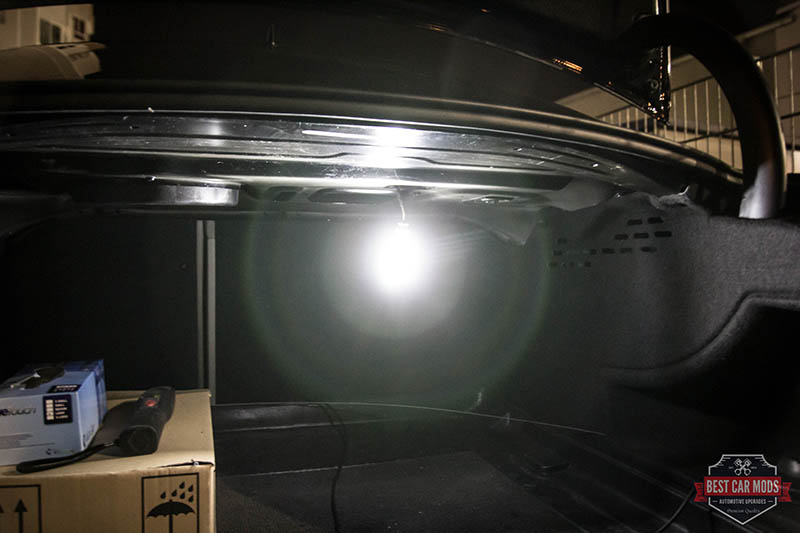 Audi A4 B8 - LED upgrade trunk light