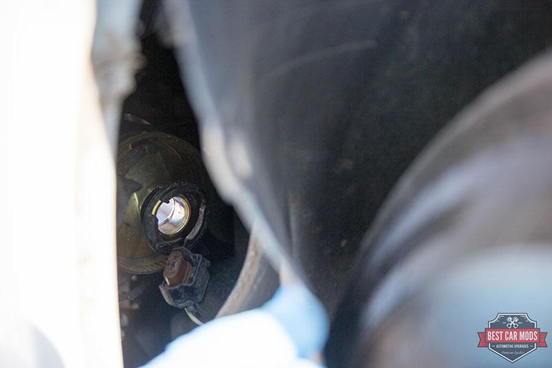 VW Tiguan - Fog Light Projector detail view