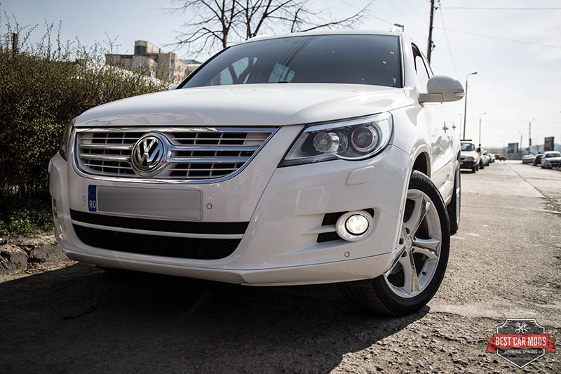 VW Tiguan - Philips WhiteVision HB4 FogBulb Upgrade