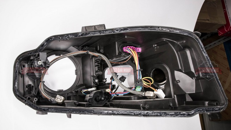 audi a4 b8 xenon headlight assembly. Black Bedroom Furniture Sets. Home Design Ideas