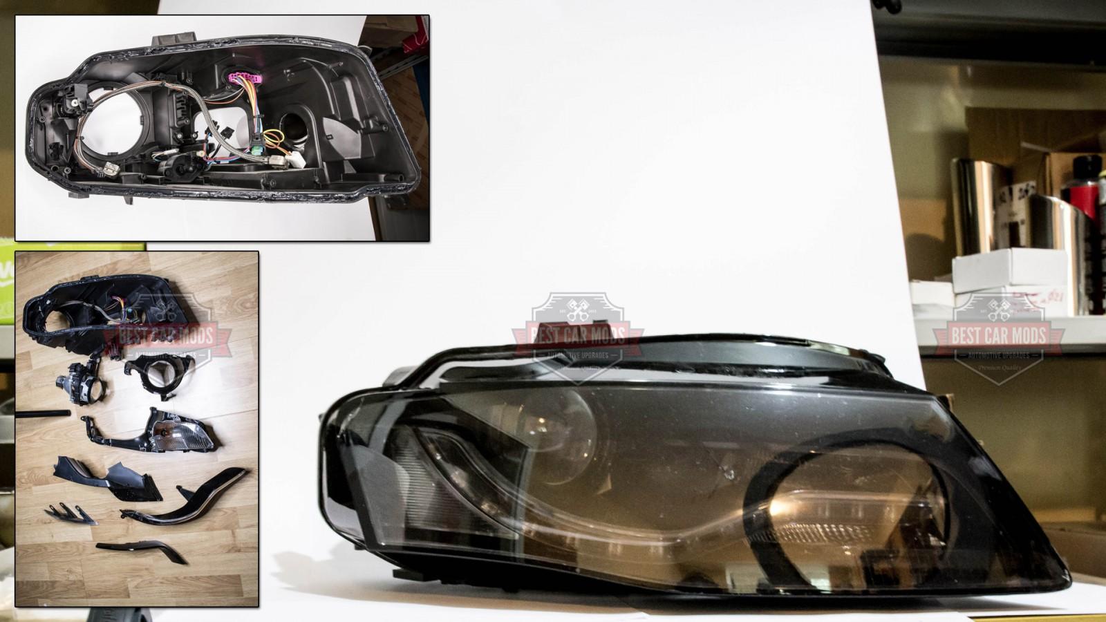 Audi A4 B8 Xenon Headlight Assembly Bestcarmodscom