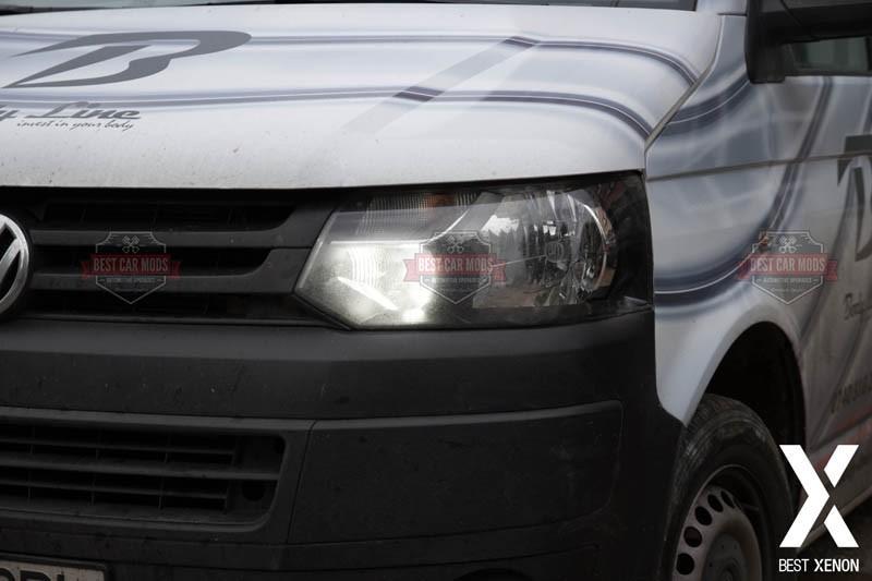 VW-T5-DRL-Daytime Running Lights - After