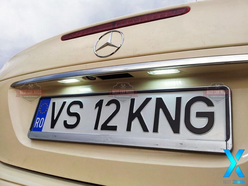 led-numar-mercedes-e-class-w211-detaliu2
