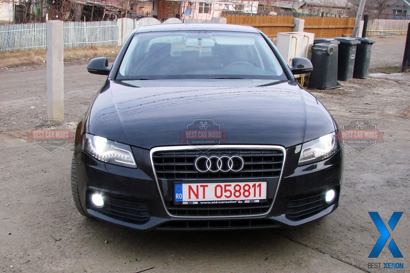 audi a4 b8 fog xenon install. Black Bedroom Furniture Sets. Home Design Ideas