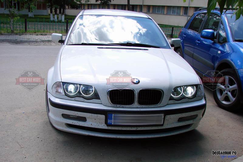 BMW 3 Series E46 – Angel Eyes & Xenon Upgrade – BestCarMods com