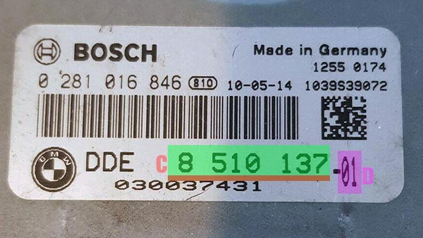 How To Read Bmw Part Numbers Bestcarmods Com